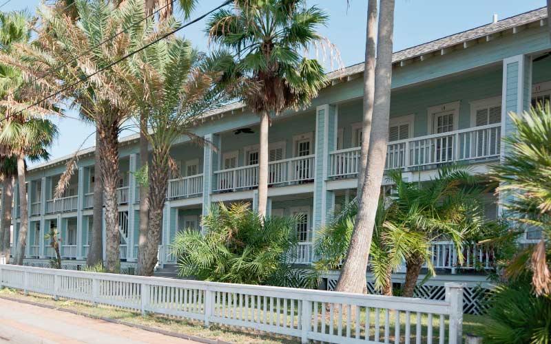 The historical Tarpon Inn in Port Aransas, Texas is as historic as it is haunted.