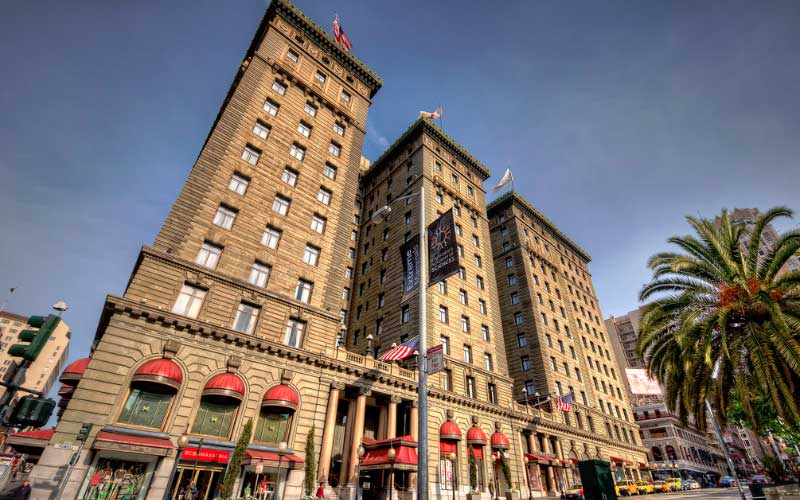 There's said to be demonic pets haunting the St. Francis Hotel in San Francisco.