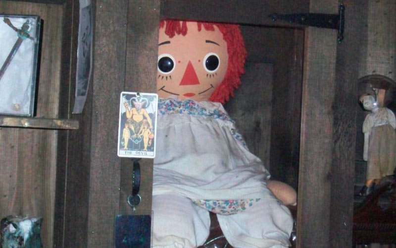 Annabell might be the most famous haunted doll in the world.