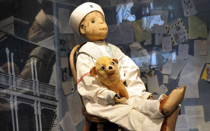 Robert The Doll is on display, or on lockdown depending on how you see it, in Key West, Florida.