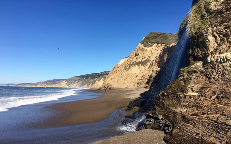 The Alamere Falls in Bolinas are home to old, mistreated spirits who want revenge.