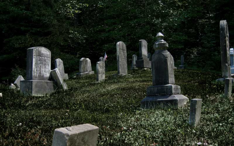 Haunted cemeteries run rampant in California, but the one in Placerville is just beyond haunted.