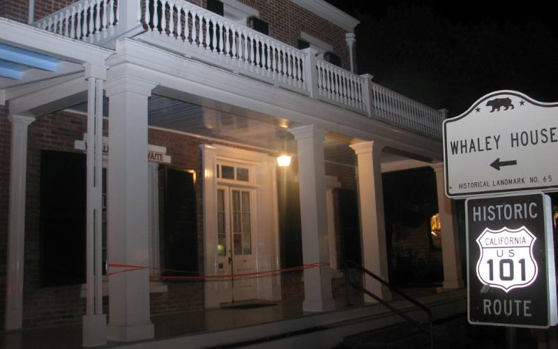 Whaley House is now a historic haunted building, it was to just be haunted. San Diego will never be the same.