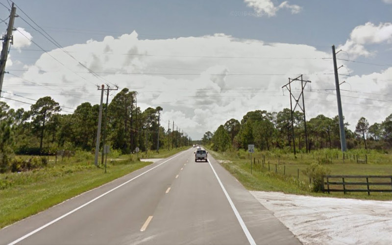 Take a drive down Fellsmere Road in Florida if you're up to it.
