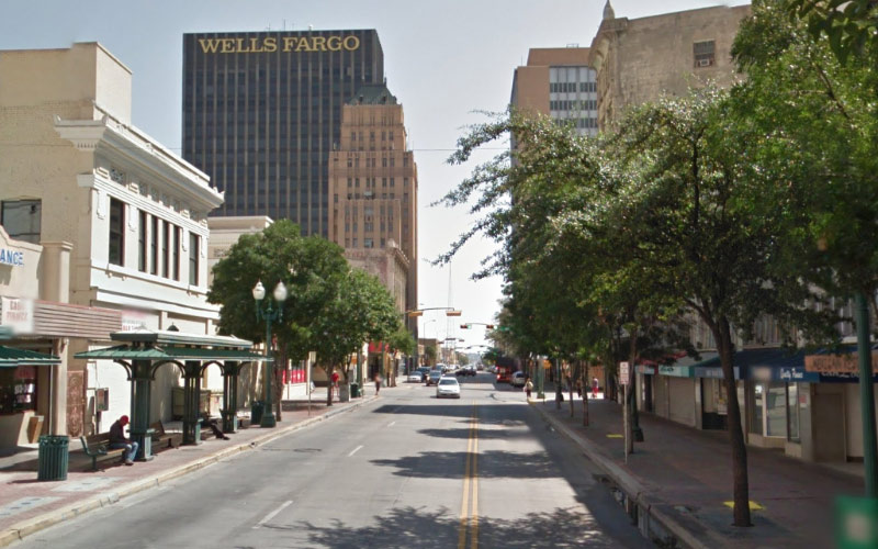 Texas Avenue in El Paso lives up to its haunted reputation every. single. time.