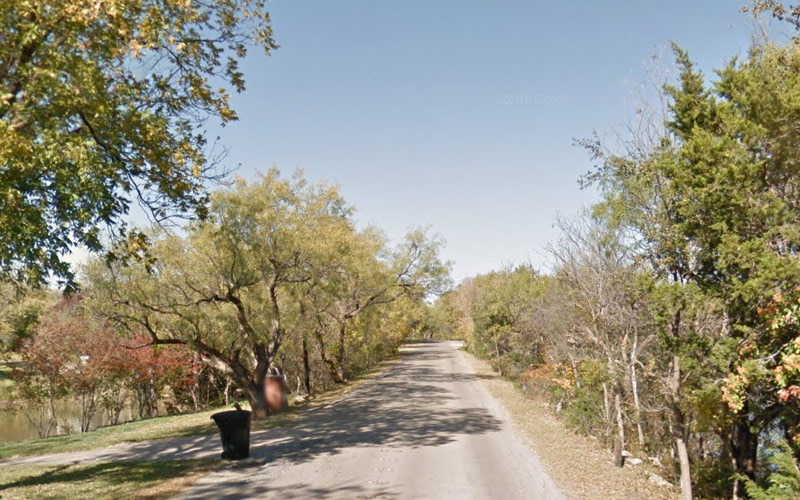 Shoreline Drive in Abilene, Texas is only haunted if you go alone, at night... so, don't. Please don't do that.