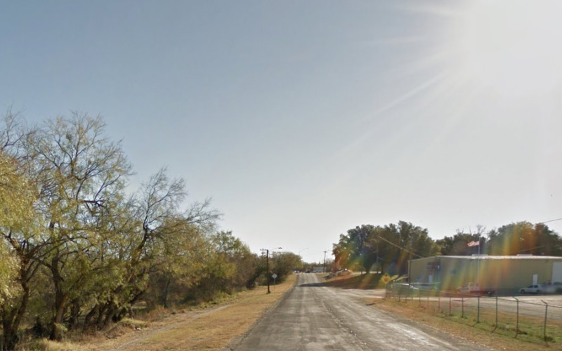 San Angelo, Texas did nothing wrong to deserve such a painted place as Paint Rock Rd.