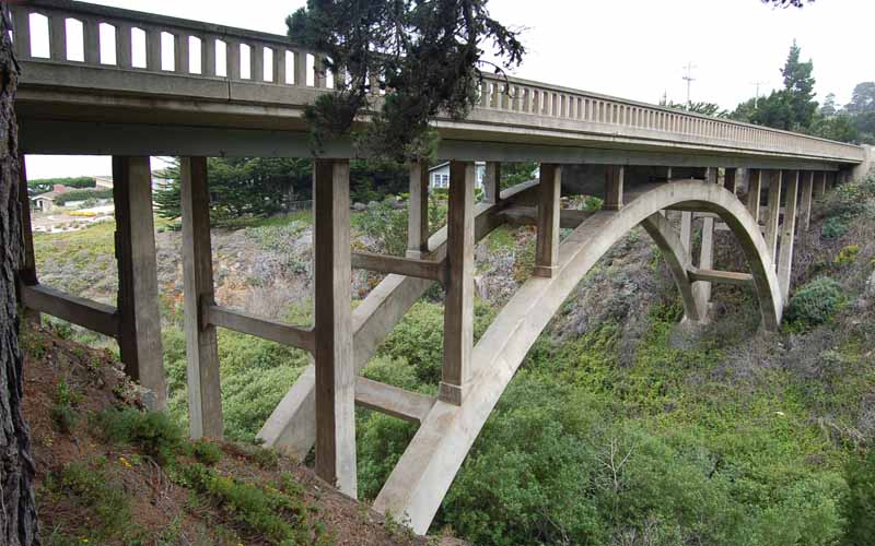 Malpaso Creek Bridge - Pacific Coast Hwy