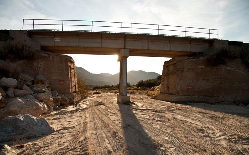 Mormon Rocks Railroad Bridge – Cajon Pass