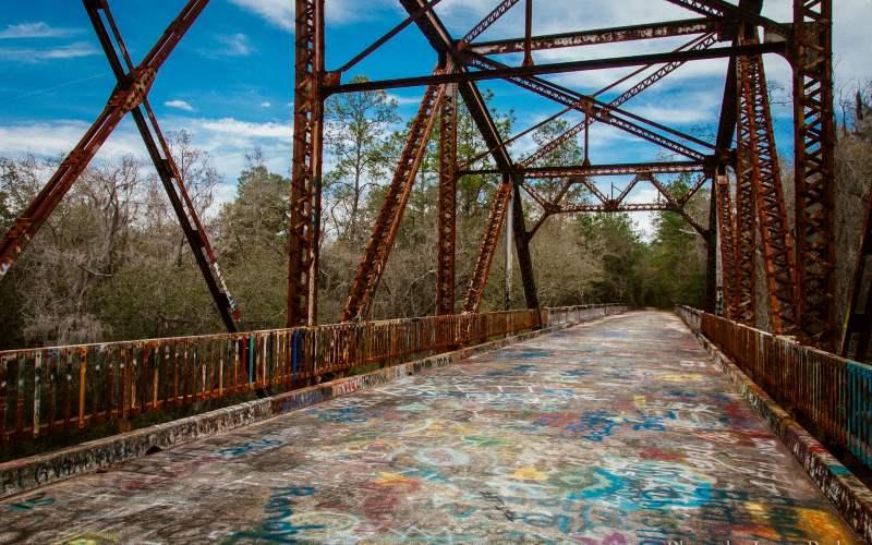 Old 129 Bridge - Suwannee Springs Park