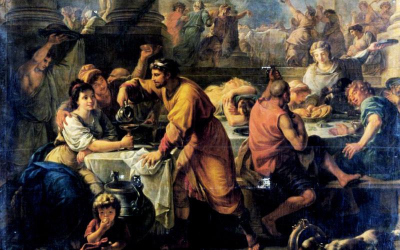 "Saturnalia is like the original version of the ""PURGE"" movies."