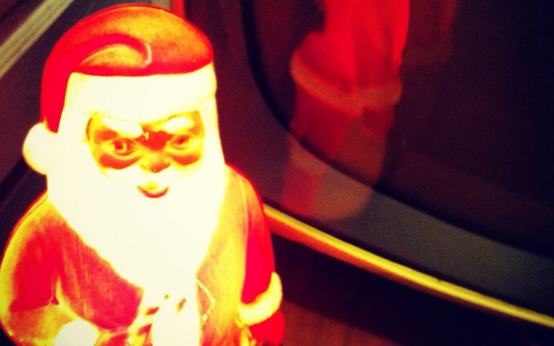 Demonic Santas are one of the most terrifying Christmas tradition origins.