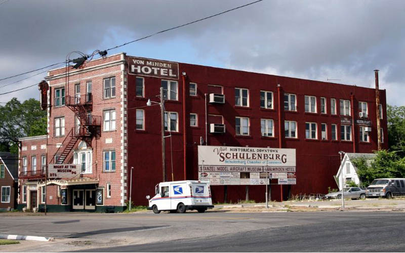 The Dead Will Tell You Terrifying Stories At This Schulenburg Hotel