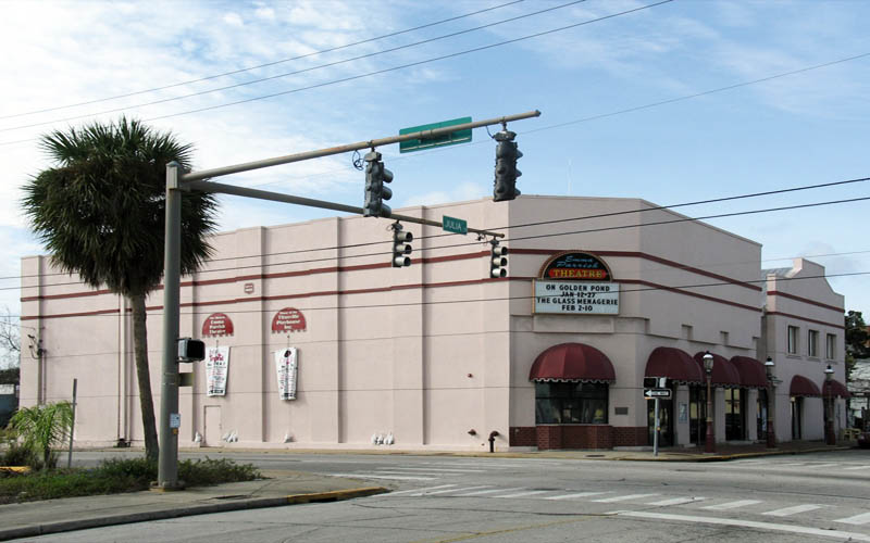 Emma Parrish Theater in Titusville Florida is certainly haunted.
