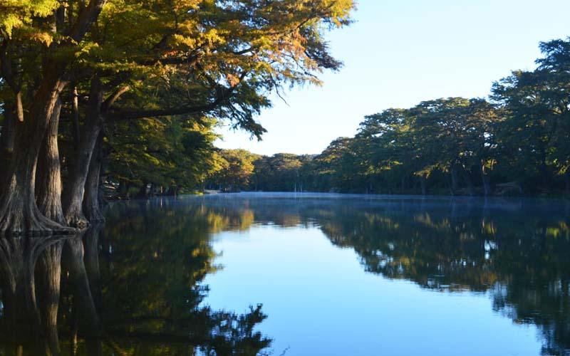 Frio River at Garner State Park – Concan