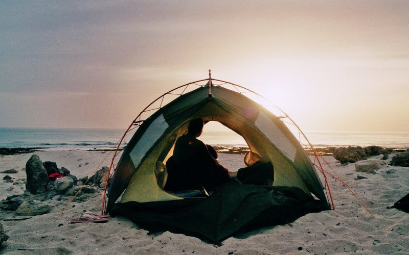9 Beach Camping Spots In NorCal To See A Ghost