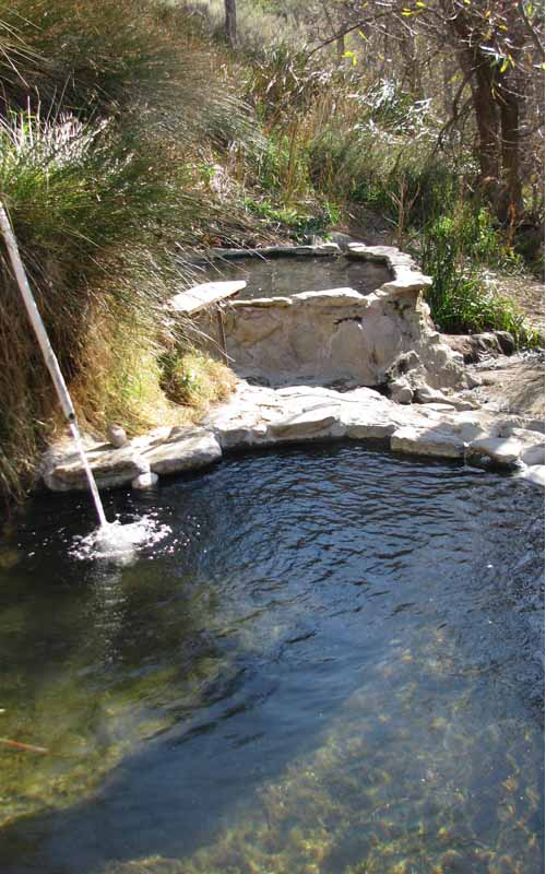 Agua Caliente Hot Springs in San Diego, California