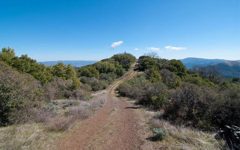 Sugarloaf Ridge State Park in Kenwood, California