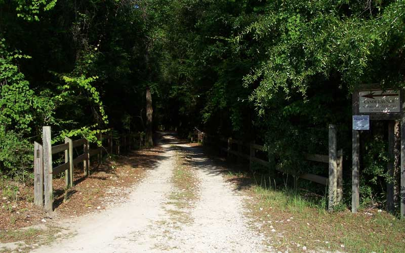 Don't Let The Ghost Of a Murderous Midwife Catch You On This Remote Florida Trail