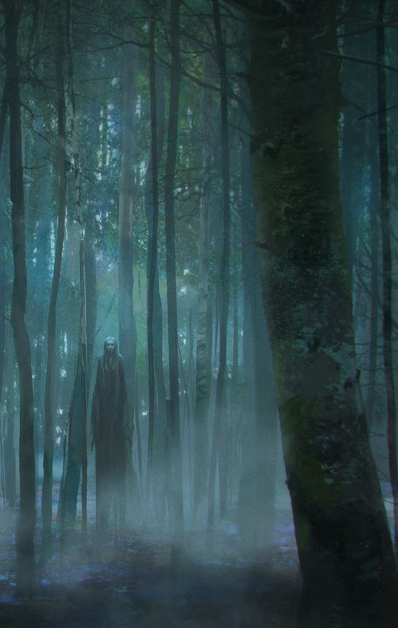 This tall dark apparition in the forest is waiting for you.