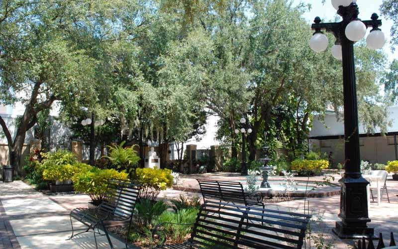 Ybor City Museum State Park in Tampa, Florida