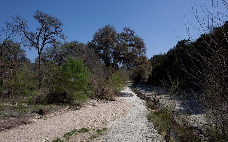Shoal Creek Park in Austin, Texas