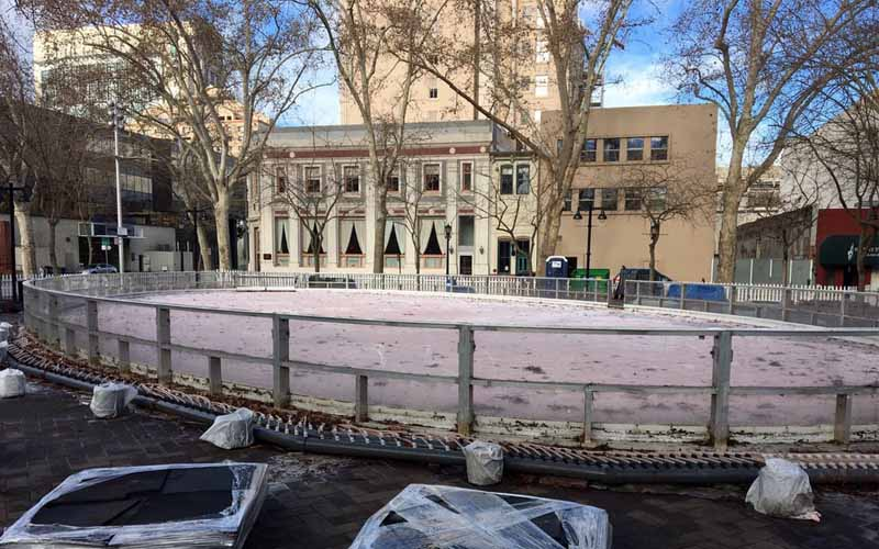 Downtown Sacramento Ice Rink in Sacramento, California
