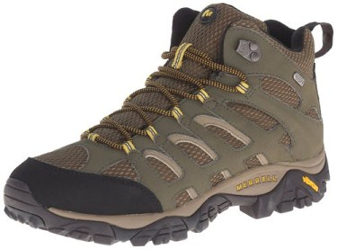 Best Hiking Boots for men 2017 - Merrell Men's Moab Mid Waterproof Hiking Boot