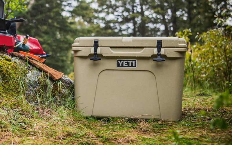 The best camping cooler - Yeti Tundra
