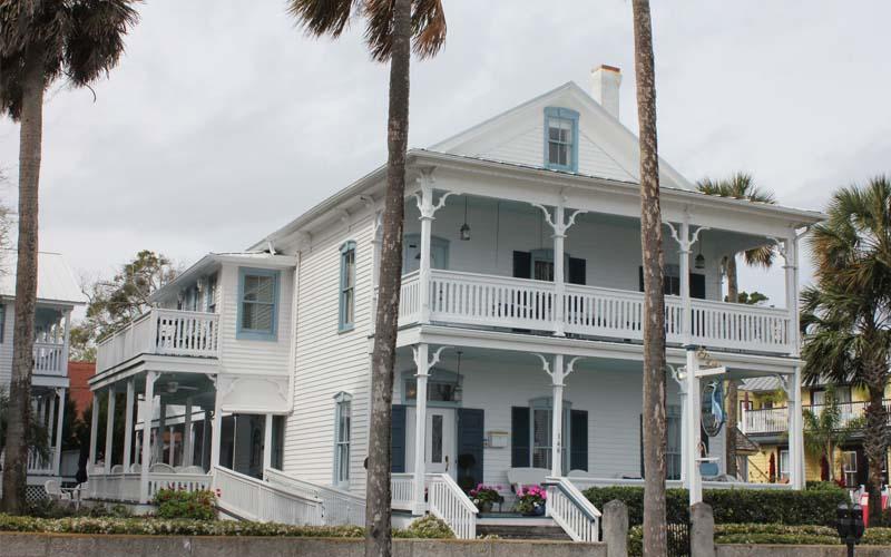 Bayfront Westcott House in St. Augustine, Florida
