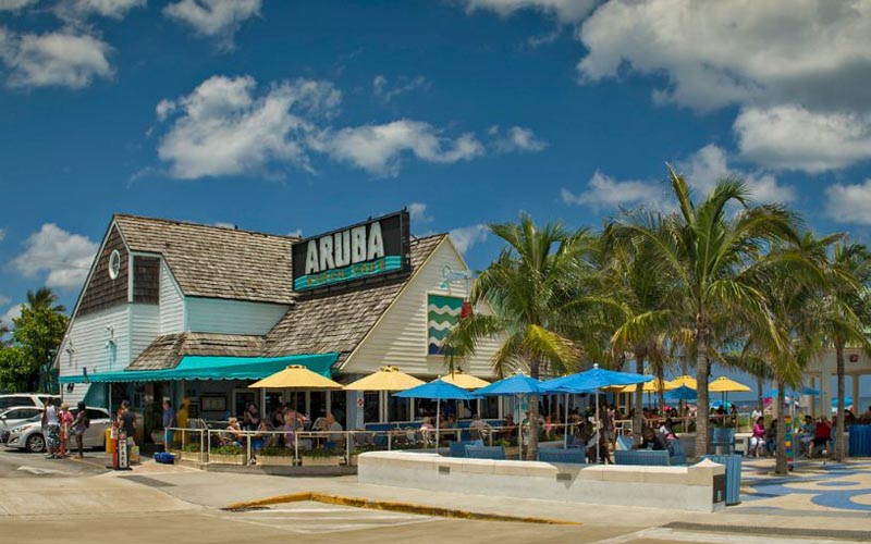 Aruba Beach Café in Lauderdale By-The-Sea, Florida