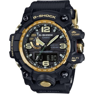 Casio Master of G Mudmaster Black Dial Resin Quartz Men's Watch GWG1000GB-1A