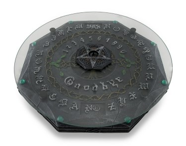 Lisa Parker Pagan Tree Of Life Pentacle Glass Top Ouija Board