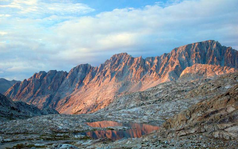 Evolution Valley in Kings Canyon National Park, California
