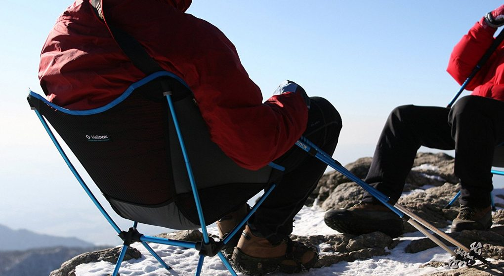 Best foldable Camping Chair - Big Agnes - Helinox