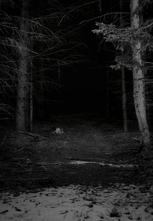Someone will follow you in this dark trail.