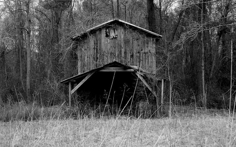 Creepy Barn in Micanopy, Florida