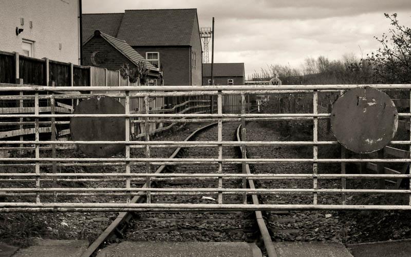 San Antonio Railway Crossing in San Antonio, Texas