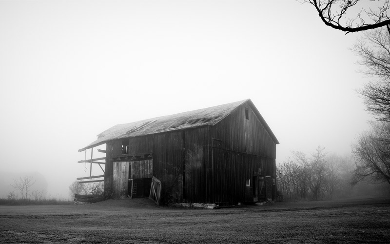 Haunted barn near Fort Davis