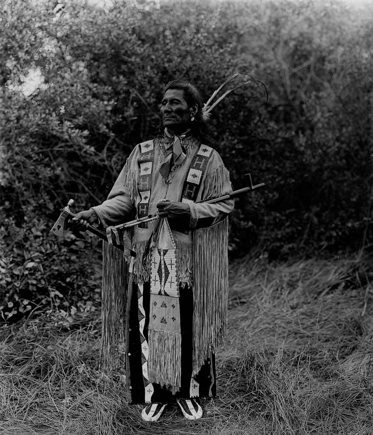 Native American Hitch Hiker