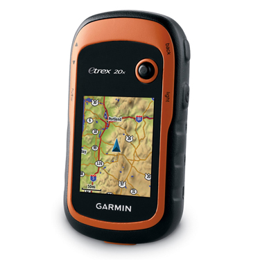 Garmin eTrex 20x - Large memory and preloaded maps