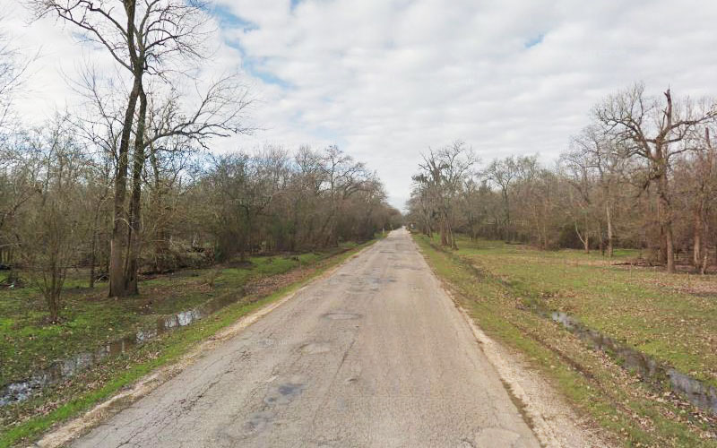 Patterson Road in Houston, Texas