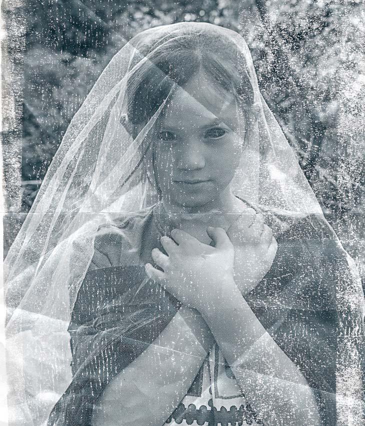 black eyed ghost kid