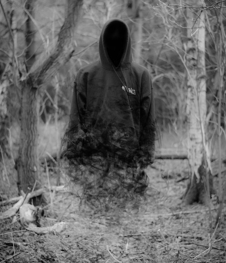 no face ghost