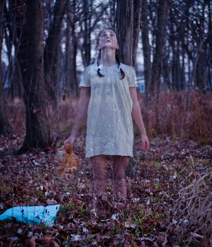 ghost girl kid