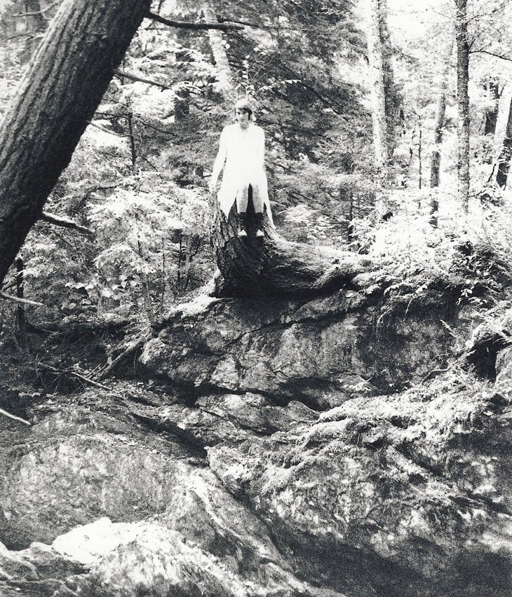 ghost on rock