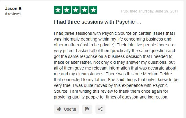 Psychic Source User Review and Rating 1