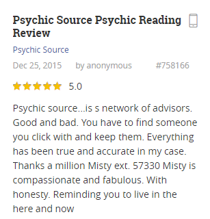 Psychic Source is a community of gifted psychics and astrologers that offers its services for all people who want to understand their lives better or to try some non traditional methods to solve their problems. Its services include building individual horoscopes, last life reading, that makes people able to get additional information about their fortune, their predisposition and to find optimal ways for harmonizing /5(60).
