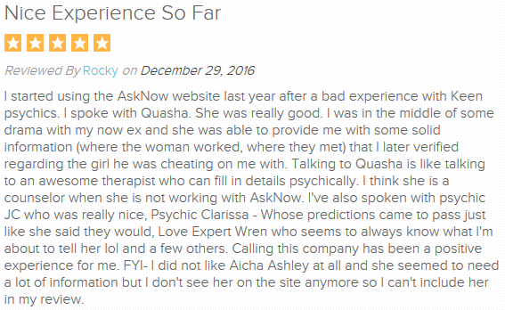 AskNow User Reviews and Ratings 2