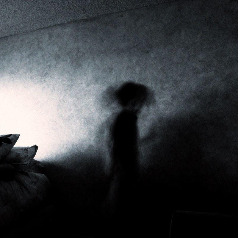 ghost in bedroom